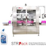 Mašina za punjenje tečnih boca sa ugaonim grlom