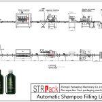 Automatska linija za punjenje šampona