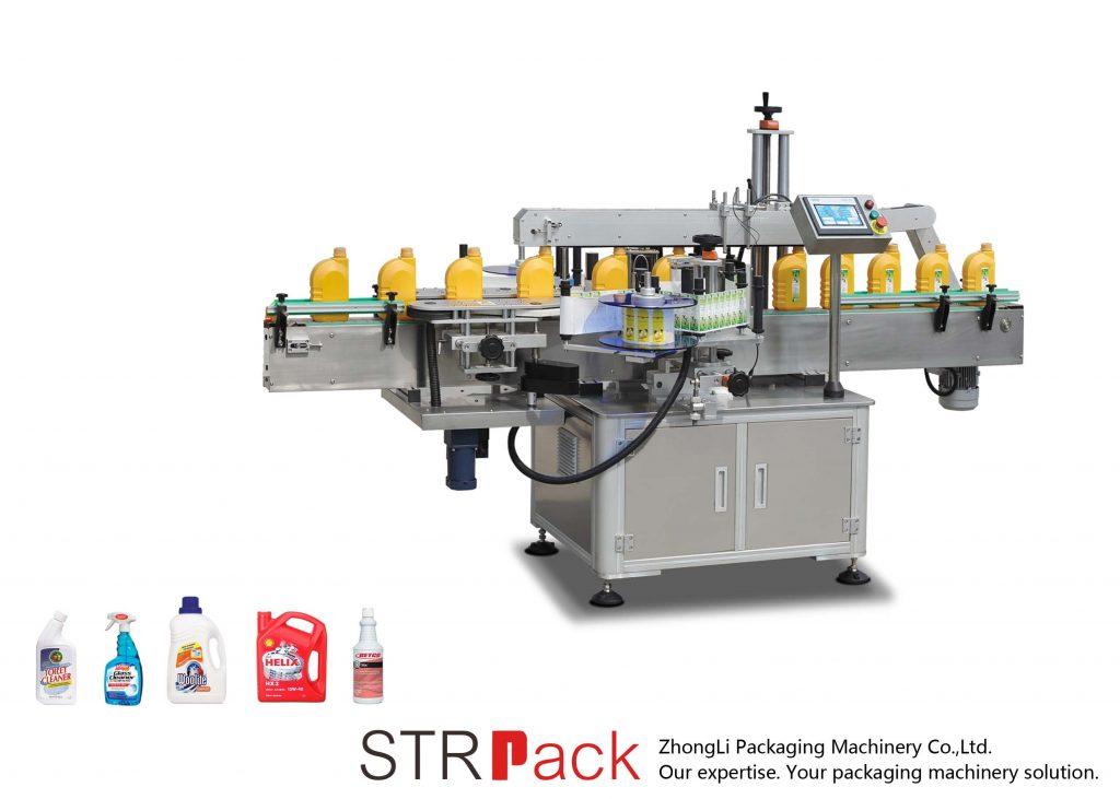Automatska jednostruka / dvostrana samoljepljiva mašina za etiketiranje