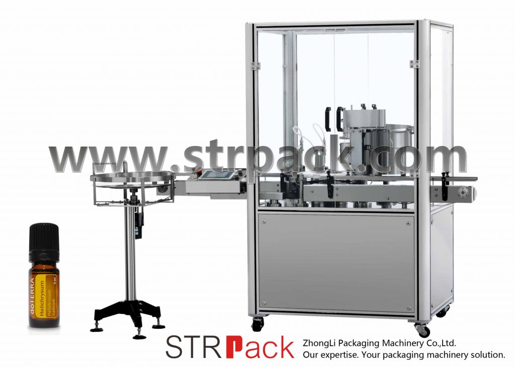 Mašina za prešanje kapica za punjenje esencijalnog ulja