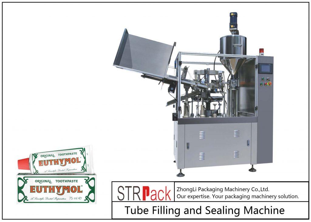 SFS-60Z Mašina za punjenje i zatvaranje metalnih cevi