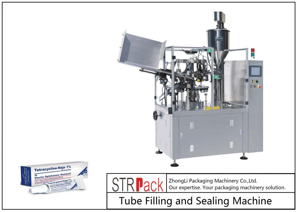 SFS-80Z Mašina za punjenje i zatvaranje metalnih cevi