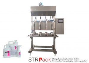 Polu-automatska mašina za punjenje tekućine u težini vremena