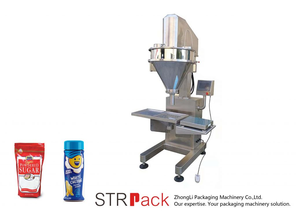 Poluautomatska mašina za punjenje praha puževa